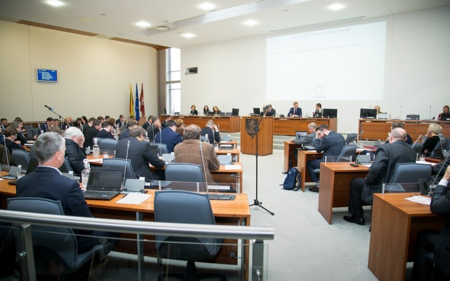 At the Vilnius council meeting