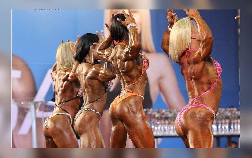 Kultūrizmo ir fitneso varžybose Ispanijoje