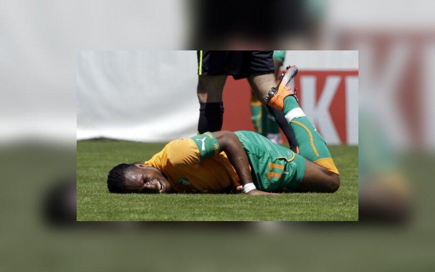 Didier Drogba patyrė traumą