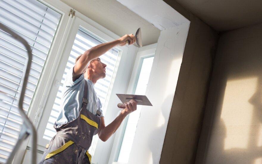 Kokių klaidų vengti pradėjus remontuoti būstą