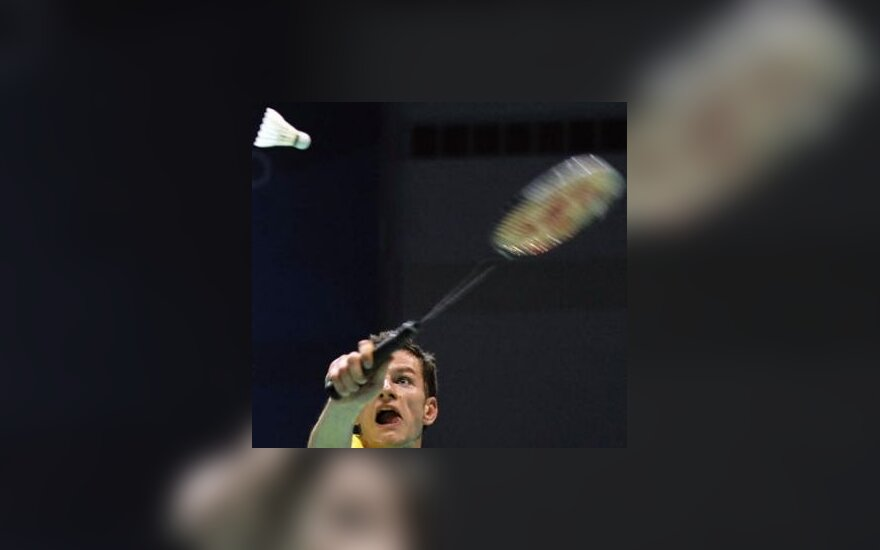 K.Navickas nepateko į pagrindinį badmintono turnyrą Anglijoje