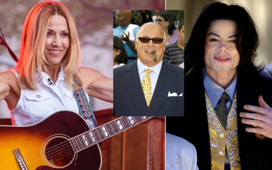 Sheryl Crow, Frank DiLeo. Michael Jackson /Foto: Scanpix, Vida Press