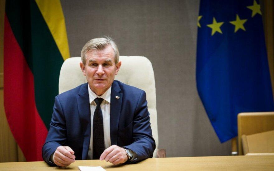 V. Pranckietis tikisi nuoseklaus Vyriausybės bendradarbiavimo su Seimu