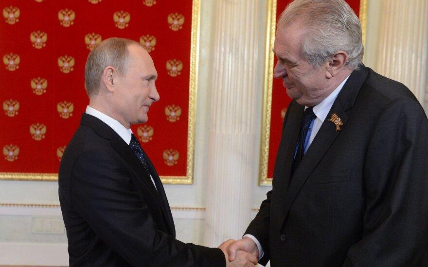 Vladimiras Putinas, Milošas Zemanas