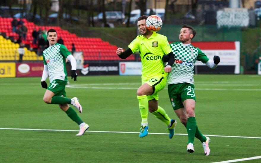 Futbolo A lyga: Trakai-Žalgiris