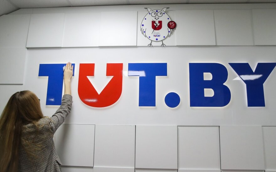 Baltarusijos portalas Tut.by – užblokluotas