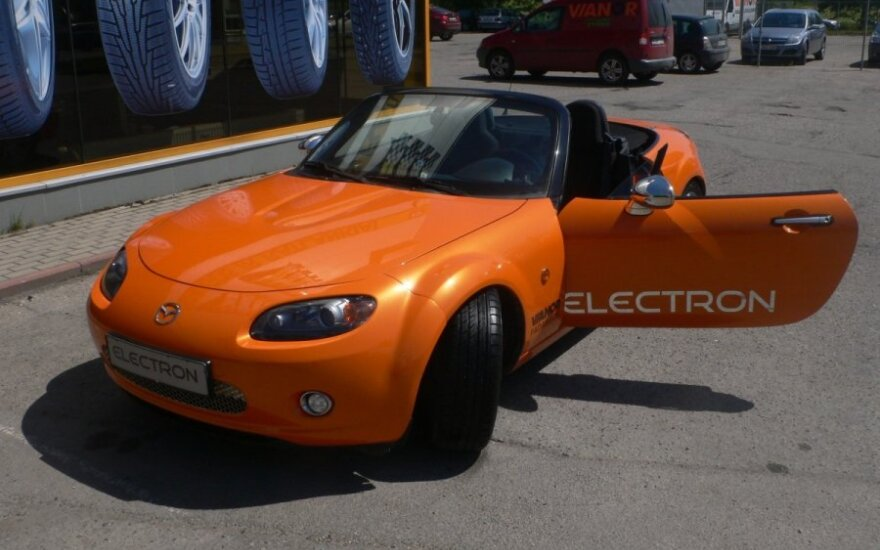 Mazda MX-5 elektromobilis