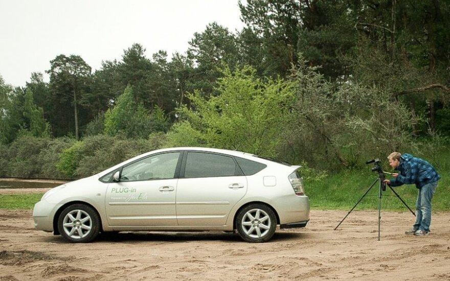 Lietuvių patobulintas Toyota Prius Plug-in