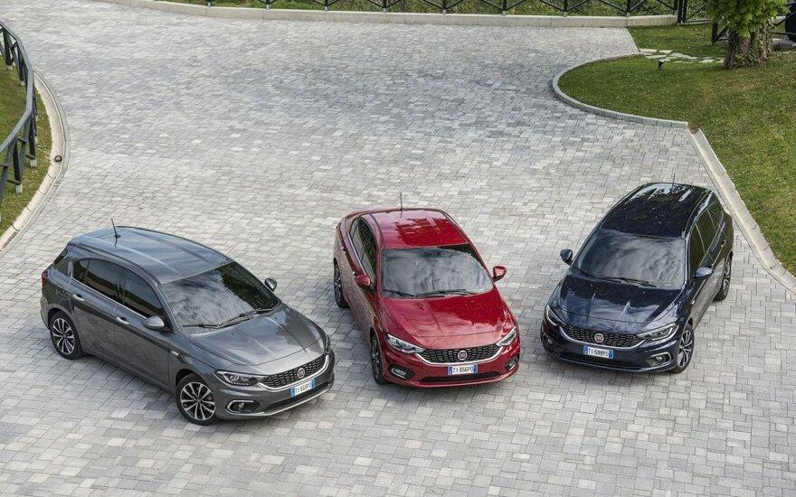 """Gruodį Prancūzijoje """"Fiat"""" markės pardavimai kilo trečdaliu"""