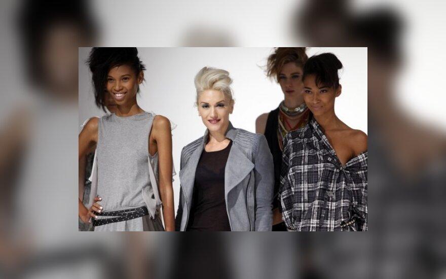 Gwen Stefani su modeliais