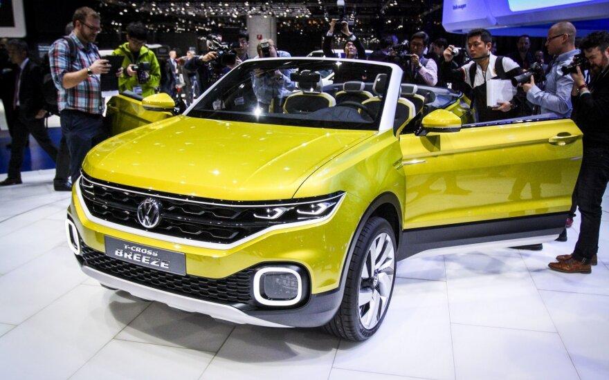 """Skandalų sukrėstas """"Volkswagen"""" Ženevoje pristatė naujojo pasaulio viziją"""