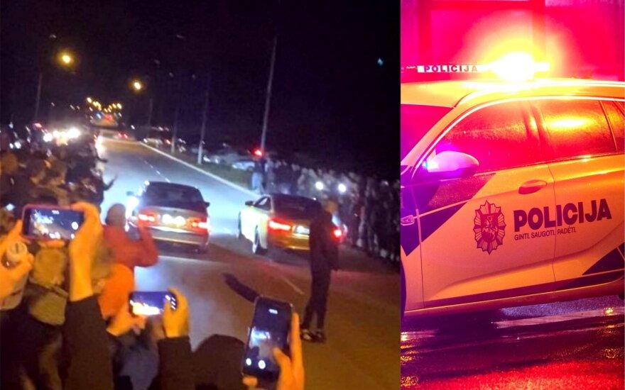Policijai užkliuvo nelegalus dragas