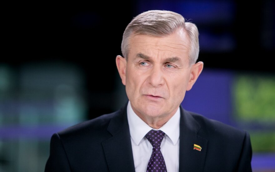 Over 50 MPs voice no-confidence in Seimas speaker