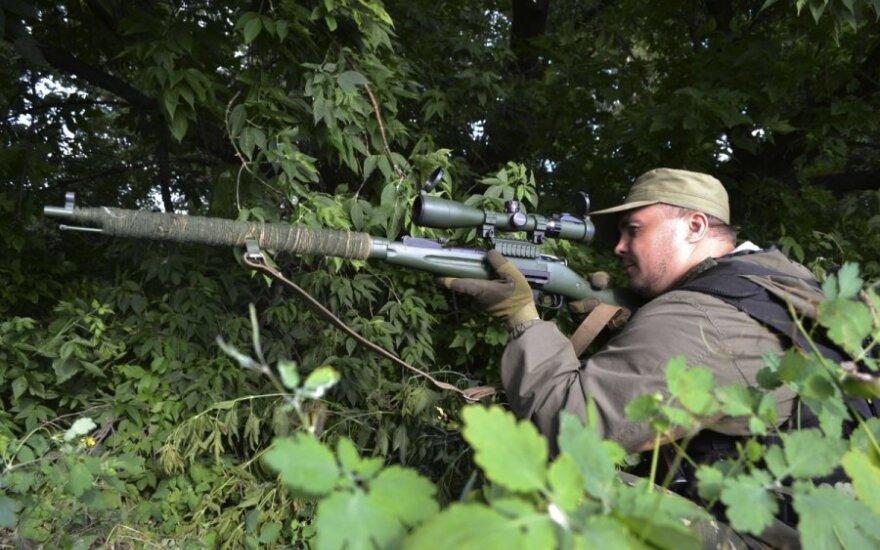Sunaikintas Ukrainos karius varginęs snaiperis