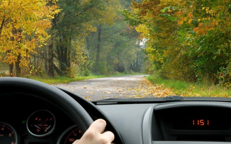 Prieš mokantis vairuoti gatvėje teorijos egzaminas nebūtinas