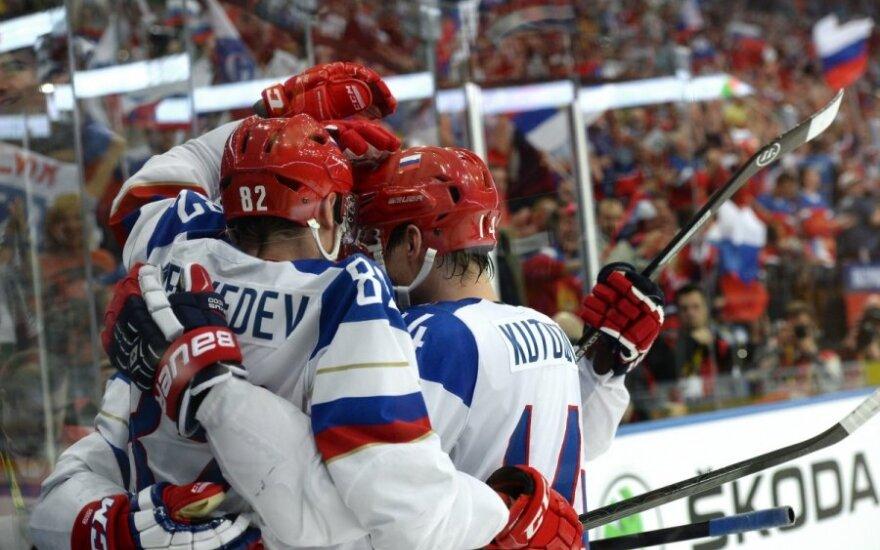 Rusijos ledo ritulininkų triumfas