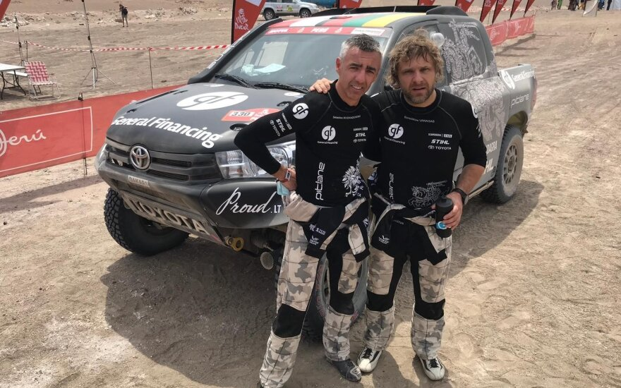 Sebastianas Rozwadowskis (kairėje) ir Benediktas Vanagas