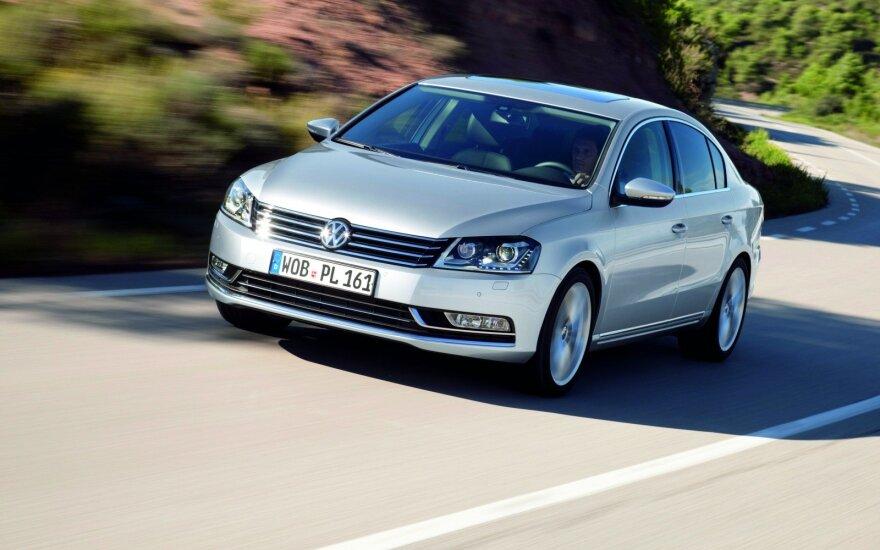 """Priešpaskutinės kartos """"Volkswagen Passat"""""""