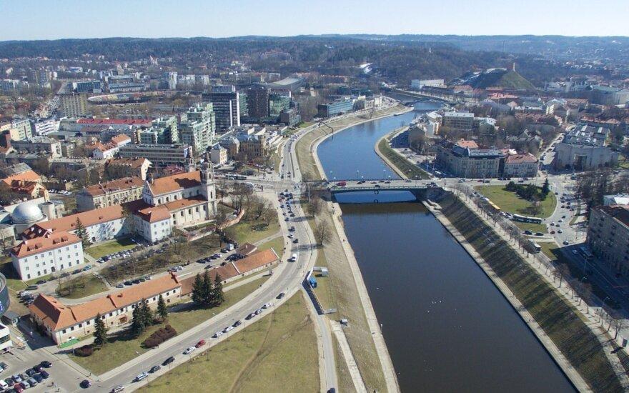 Vilniuje dėl remonto darbų laikinai uždaryta Žvejų gatvė