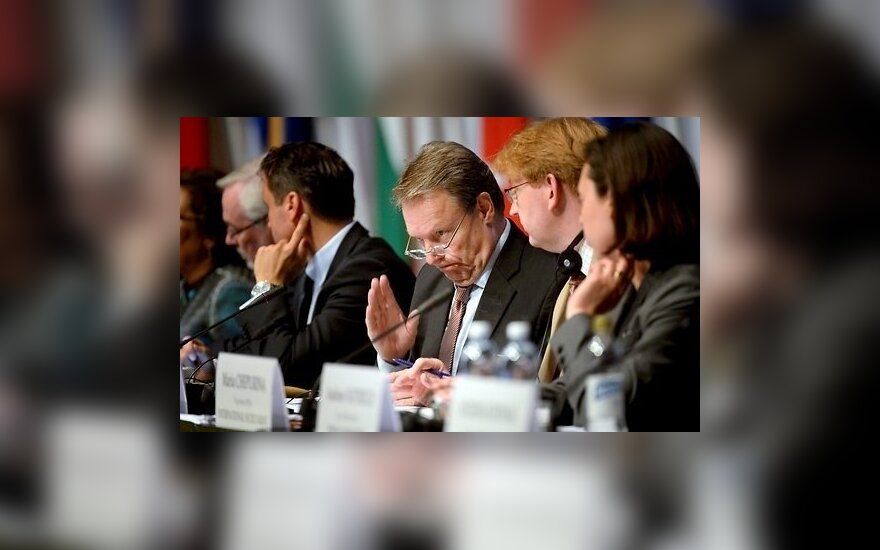Belarusian, Russian arms inspectors visit Lithuania