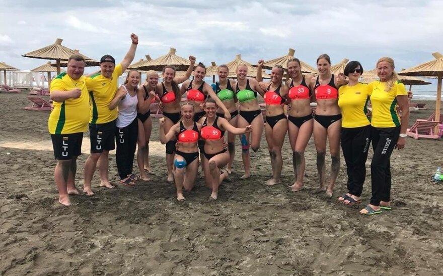 Lietuvos merginų iki 18 metų paplūdimio rankinio rinktinė