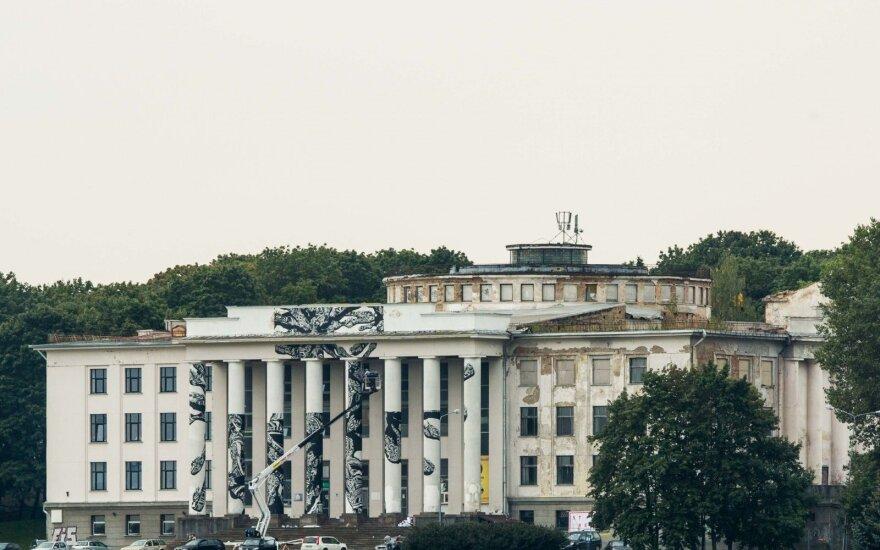Jau greitai neliks buvusių Profsąjungų rūmų: sulyginimas su žeme kainuos 1,9 mln. eurų