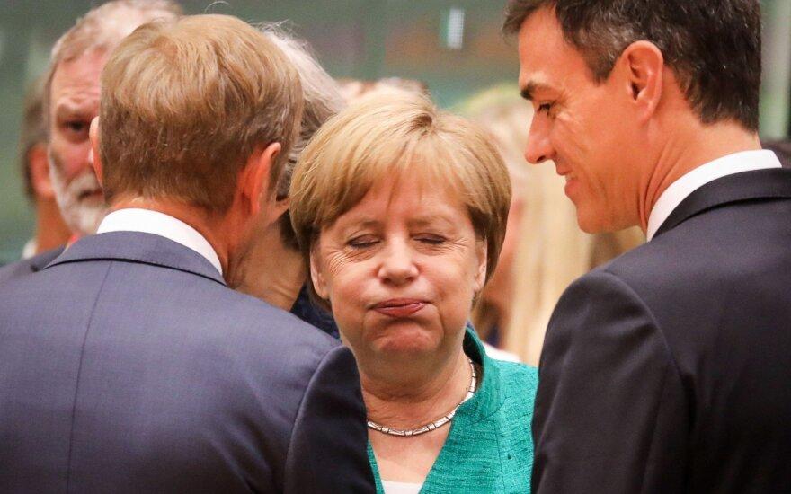 Angela Merkel, Donaldas Tuskas, Pedro Sanchezas