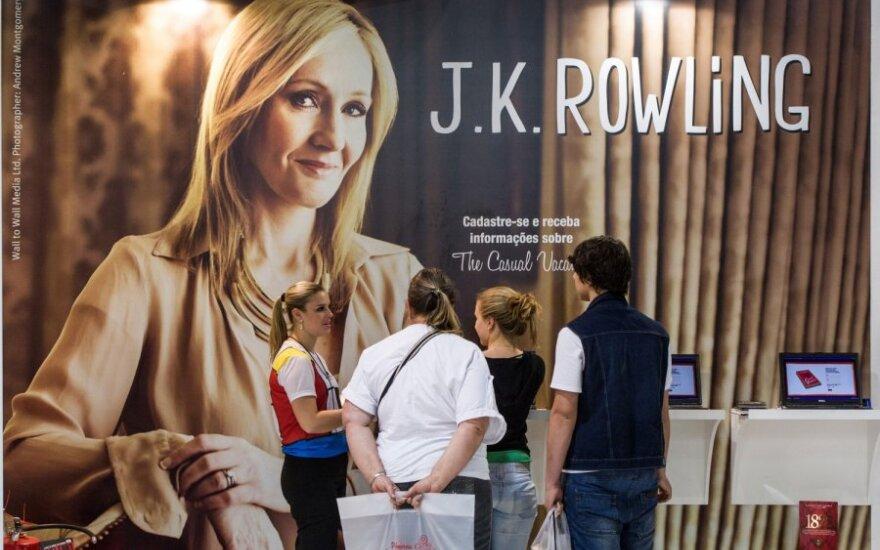 J.K. Rowling knygos pristatymas
