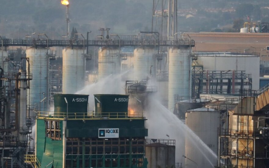 Ispanijos chemijos gamykloje nugriaudėjo sprogimas