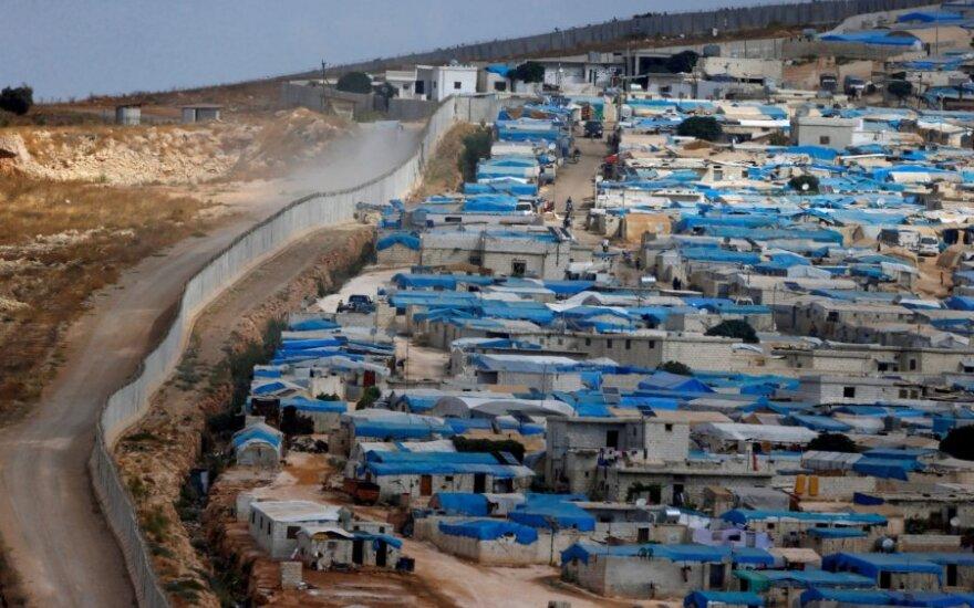 Turkijos ir Sirijos pasienis netoli Idlibo