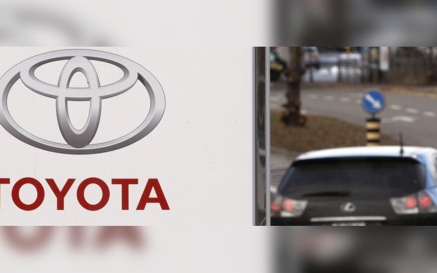 """""""Toyota"""" atšauks dar apie 1,7 mln. automobilių"""