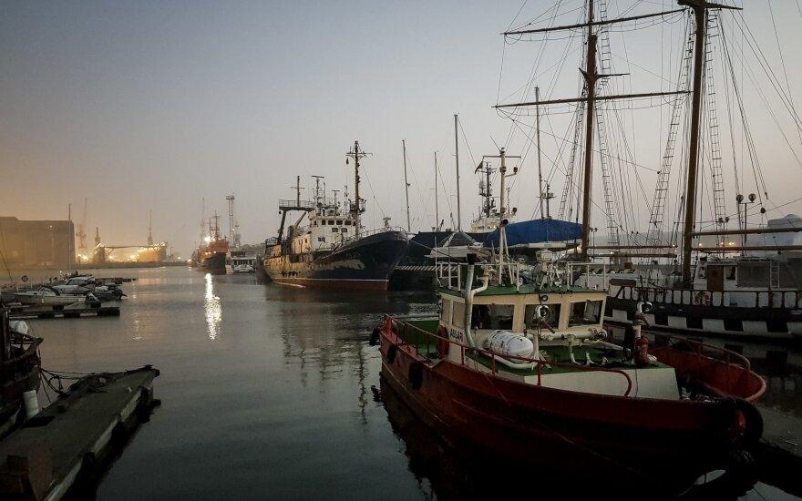 Klaipėdos uoste švartuosis pratybose Baltijos jūroje dalyvausiantys laivai