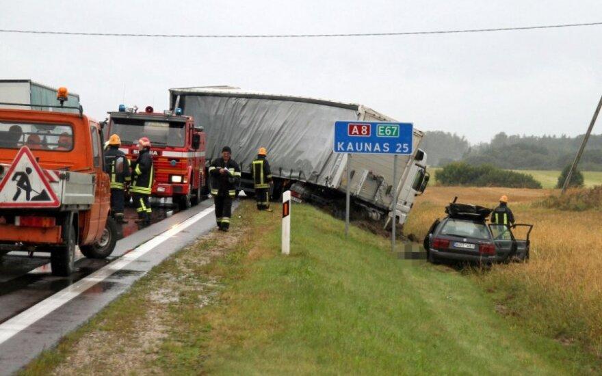 """Važiuojantiems """"Via Baltica"""" keliu – išskirtinis pareigūnų dėmesys"""