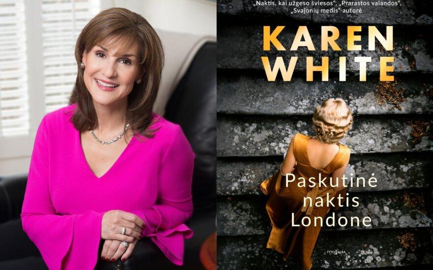 Karen White (DELFI montažas / Marchet Butler nuotr.)