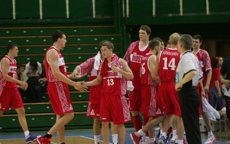 Rusijos krepšinio rinktinė