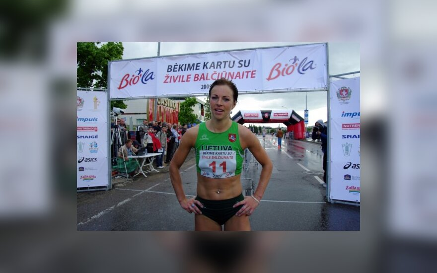 Stajerė R.Drazdauskaitė vasaros sezoną baigs Frankfurto maratone