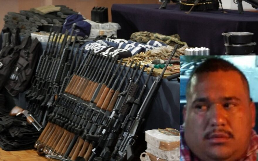 Mario Alberto Arce Moreno, AOP ir Meksikos policijos nuotr.