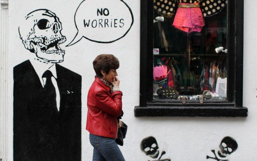 Airija pasitraukė iš antikrizinės programos