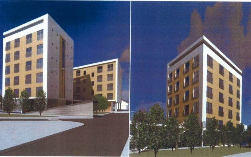 Vilnuje, prie Kalvarijų turgaus, planuojamas 56-ių butų daugiabutis