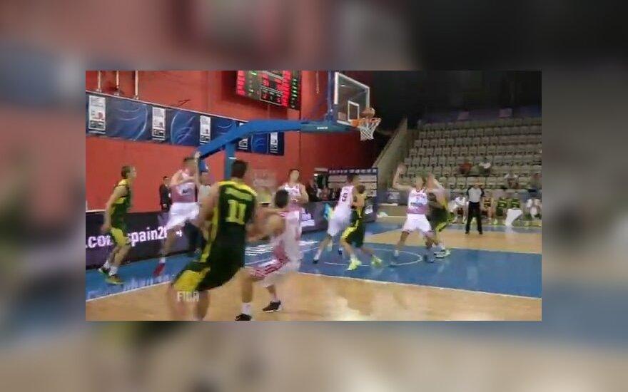Vaizdo įraše - lemiama lietuvių klaida