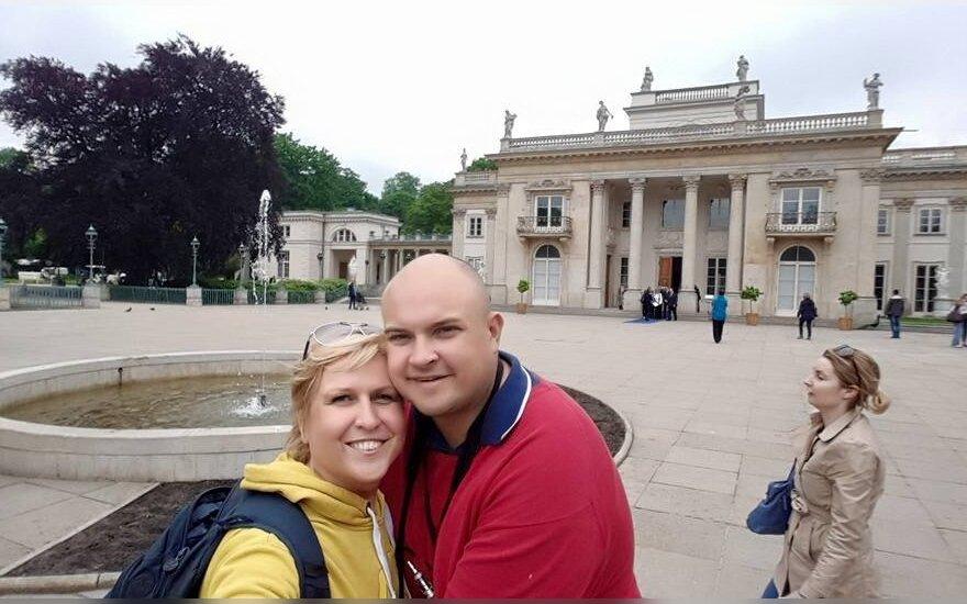 Laima Tamulytė-Stončė su vyru Gediminu susilaukė pirmagimio