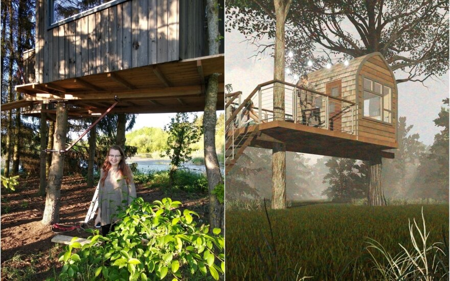Architektūra šalia gamtos