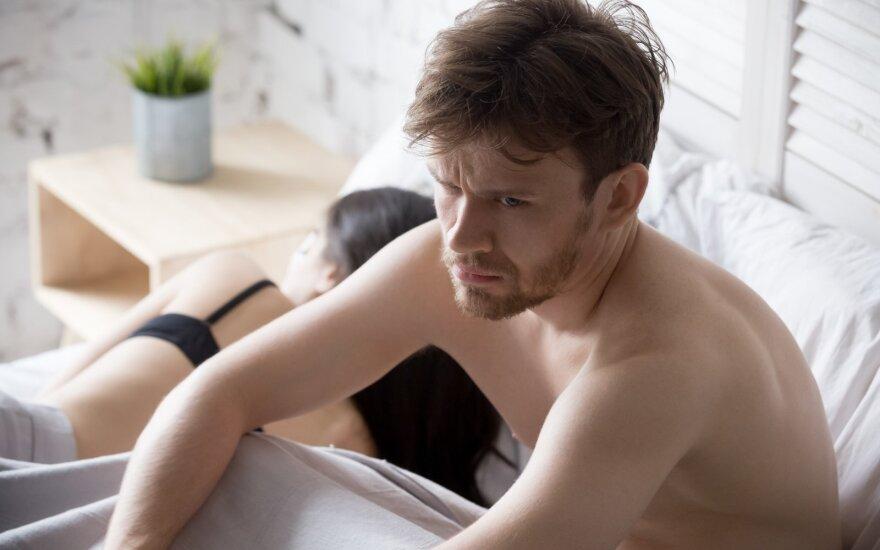 Gydytojai atsakė, kodėl erekcija tokia neprognozuojama