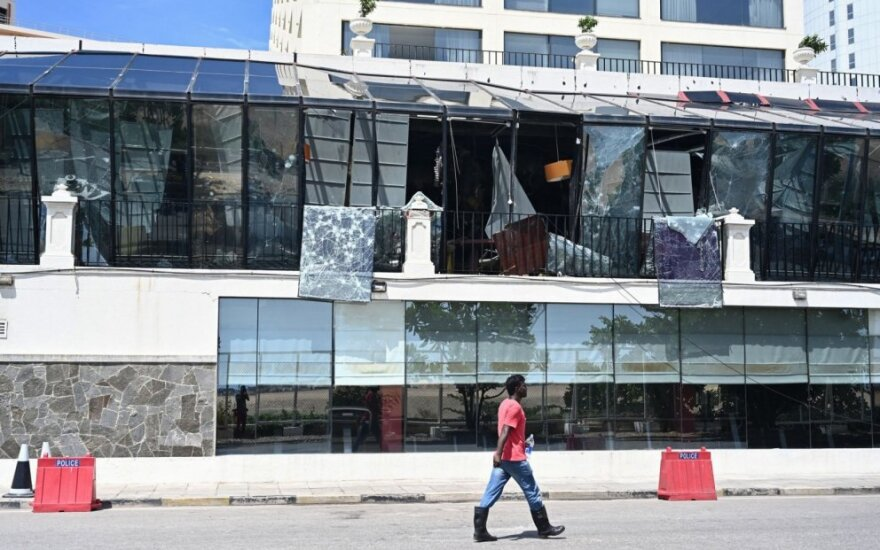 Kolombo autobusų stotyje rasti 87 bombų sprogdikliai