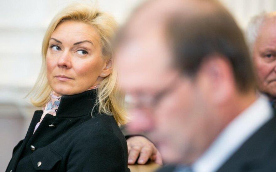 Seimo narė V. Vonžutaitė laukiasi dvynių