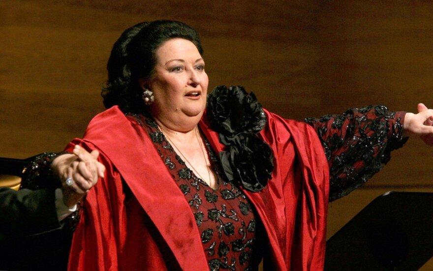Mirė viena garsiausių operos žvaigždžių Montserrat Caballe