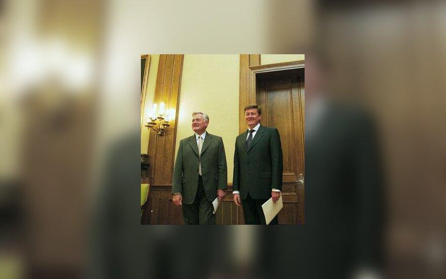 A.Paulauskas ir V.Adamkus