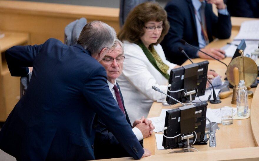 Pranckietis apie Kirkilo galimybes užimto Seimo pirmininko postą: teigiamo atsakymo pats nesitiki