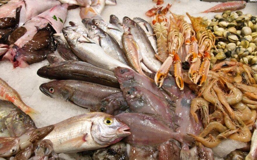Kaliningrado žuvų turgus lietuvius stebina pasiūlos įvairove
