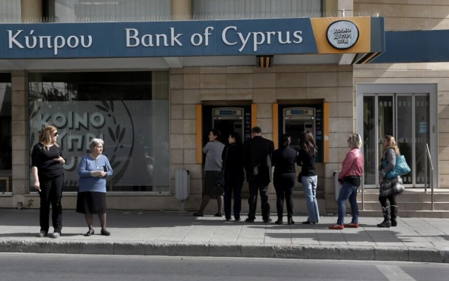Rusijos pinigai iš Kipro - į Baltijos šalis?
